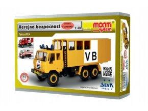 Stavebnice Monti System MS 12.1 Tatra 815 VB Veřejná bezpečnost 1:48 v krabici 22x15x6cm