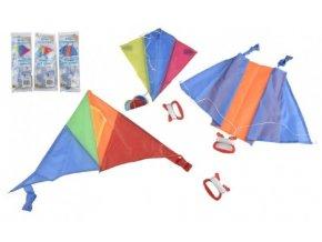Drak létající nylon barevný v sáčku (1 ks) skladem