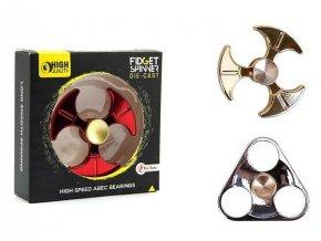 Fidget Spinner kov asst druhů 10x10x3cm