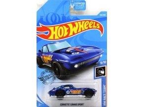 hotwheels corvette grand sport fyc76 karta