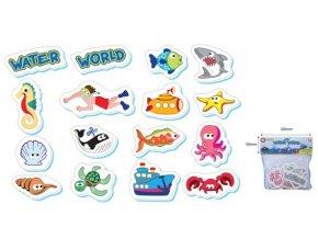 Pěnové hračky do vody - Vodní svět 16 ks