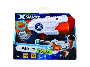 X-SHOT EXCEL MK 3 s otočnou hlavní a 8 náboji skladem