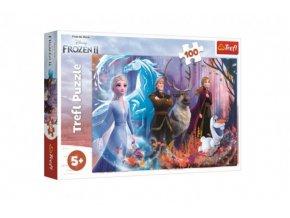 Puzzle Ledové království II/Frozen II 100 dílků skladem