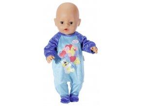 Baby Born Sametový overal MODRÝ skladem