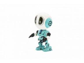 Robot kov/plast 12cm opakující slova skladem