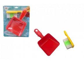 Uklízecí sada/uklízečka plast smetáček + lopatka skladem