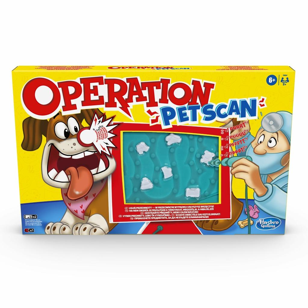 Hasbro hry Společenská hra Operace Mazlíčci