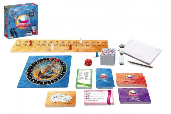 Dino Máme rádi Česko rodinná společenská hra v krabici 24x24x6cm