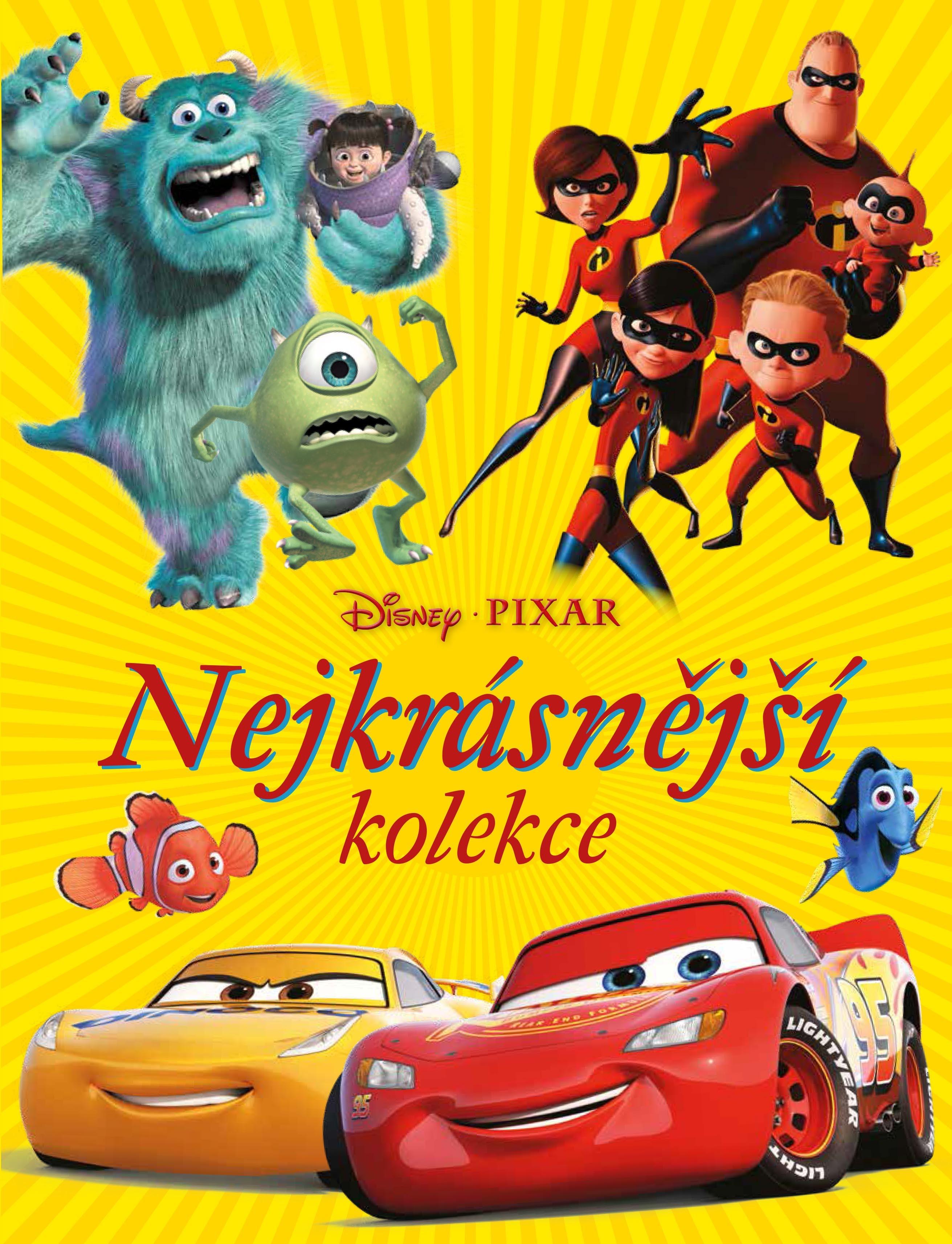 Egmont Disney Pixar - Nejkrásnější kolekce - kolektiv
