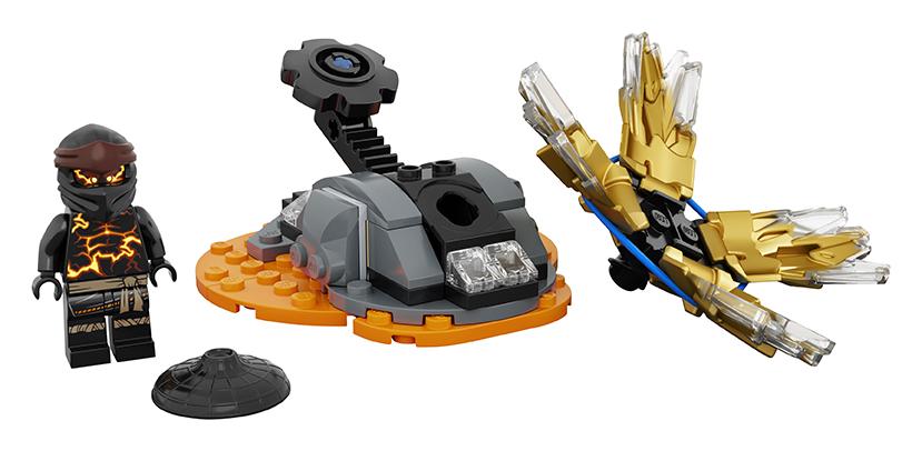 LEGO Ninjago Spinjitzu úder – Cole