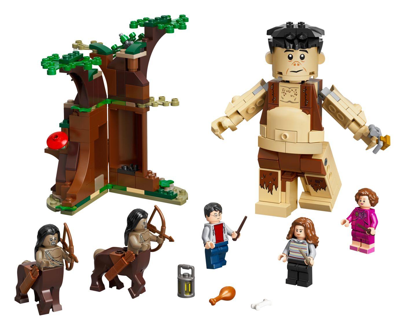 LEGO Harry Potter Zapovězený les: Setkání Drápa a profesorky Umbridgeové