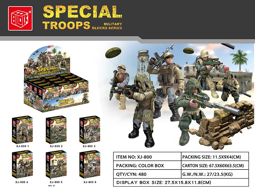 Mac Toys Vojáčci stavebnice