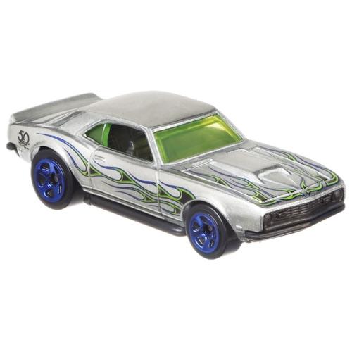 Mattel Hot Wheels '68 Copo Camaro - ZAMAC Výroční model 50 let 8/8 FRN31