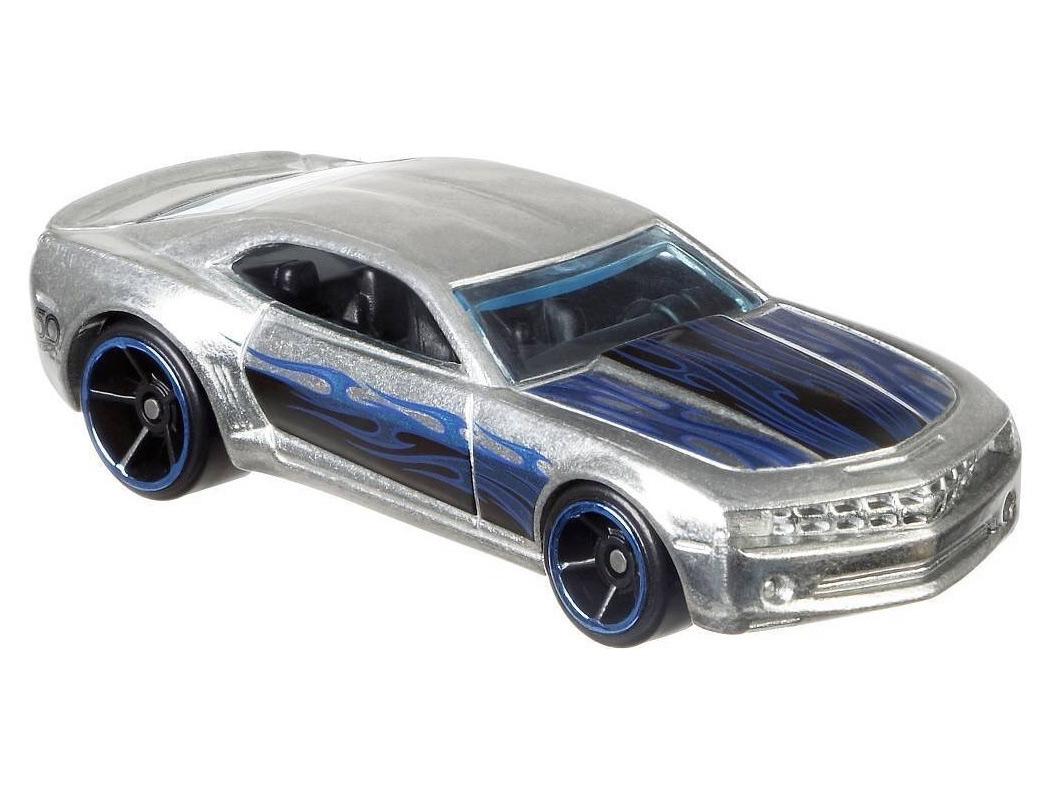Mattel Hot Wheels Chevy Camaro Concept - ZAMAC Výroční model 50 let 2/8 FRN25