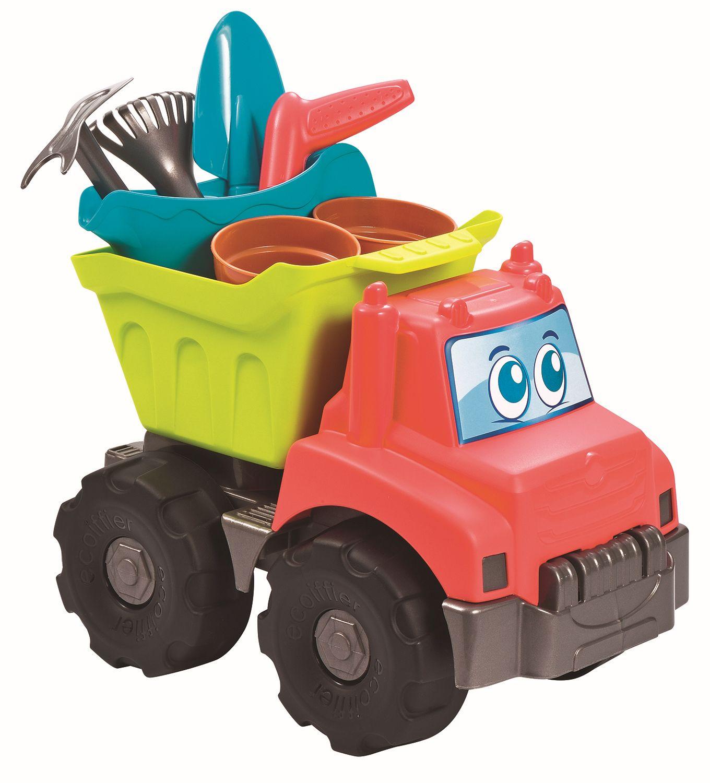 Ecoiffier Nákladní auto s přísl. na písek skladem