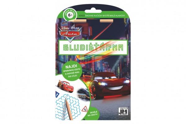 JIRI MODELS Bludišťárna s tužkou Auta/Cars 15x21cm