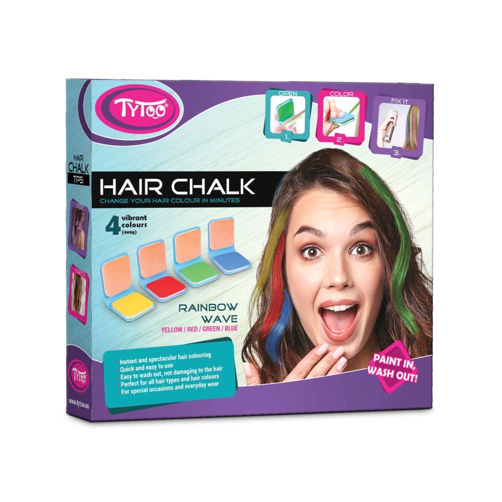 TyToo Set kříd na vlasy - Rainbow