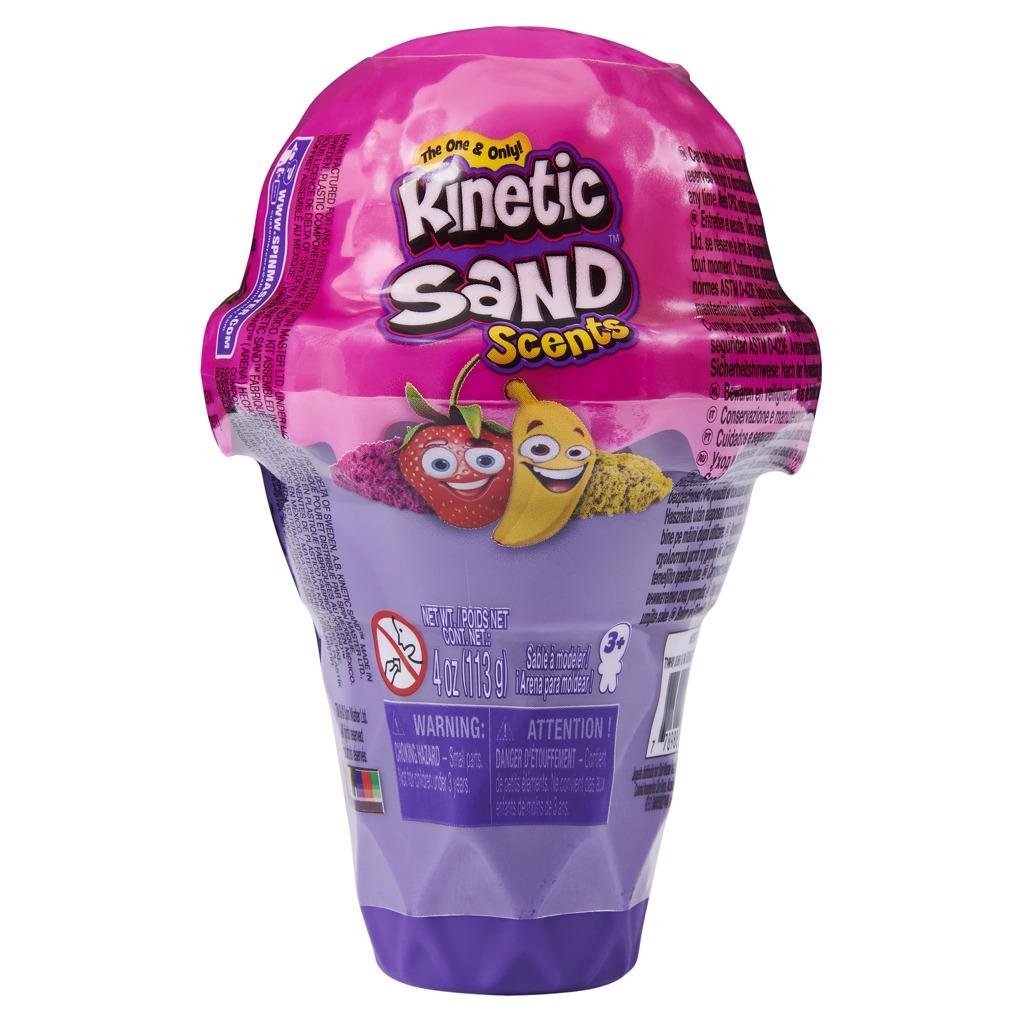 Spin Master Kinetic Sand Kinetic sand voňavé zmrzlinové kornouty