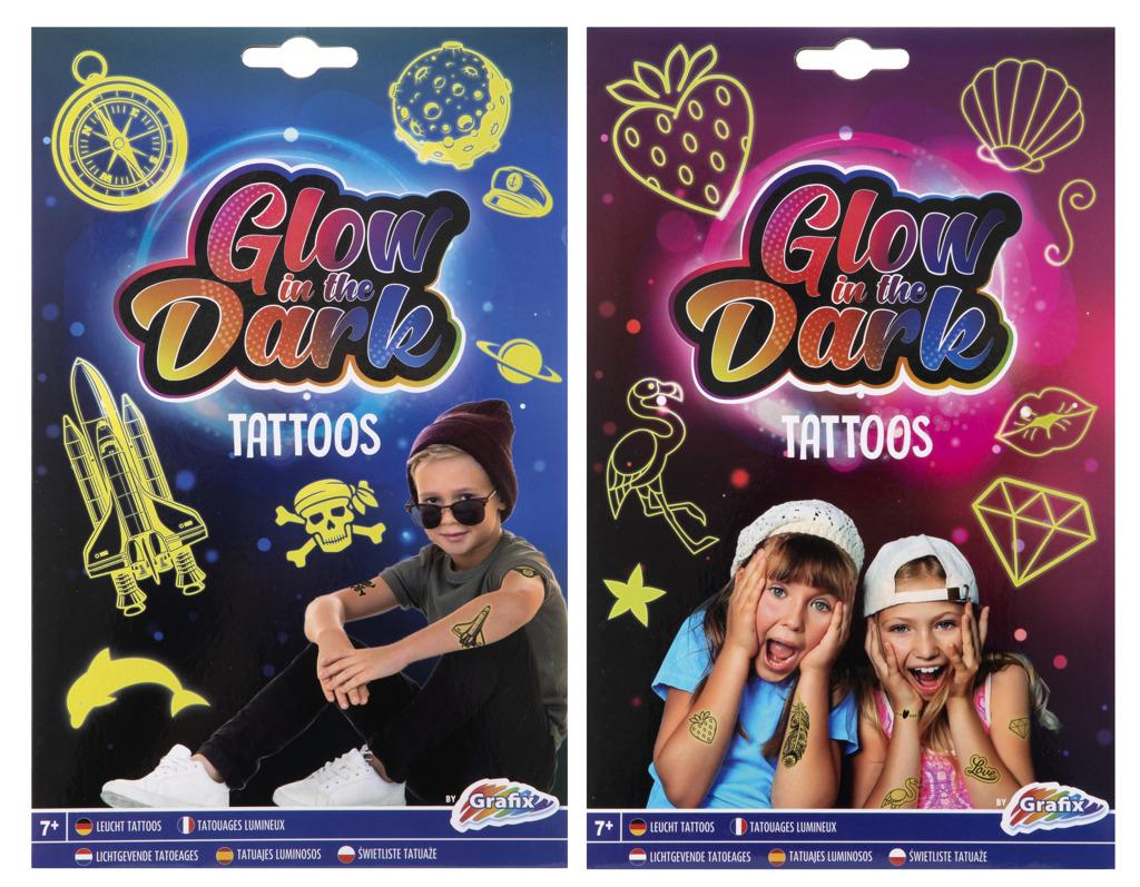 RMS Tetování svítící ve tmě