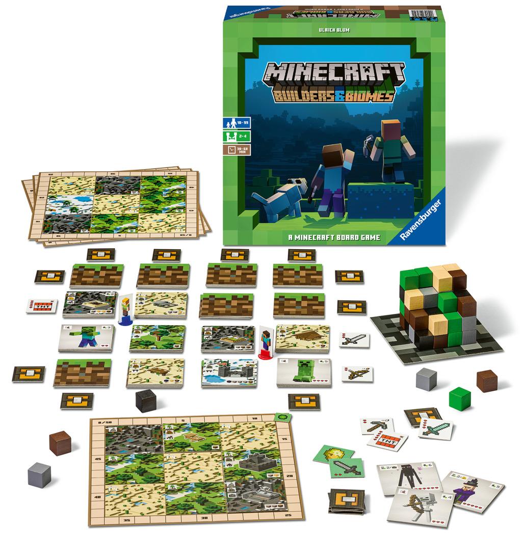 Ravensburger Společenská hra Minecraft