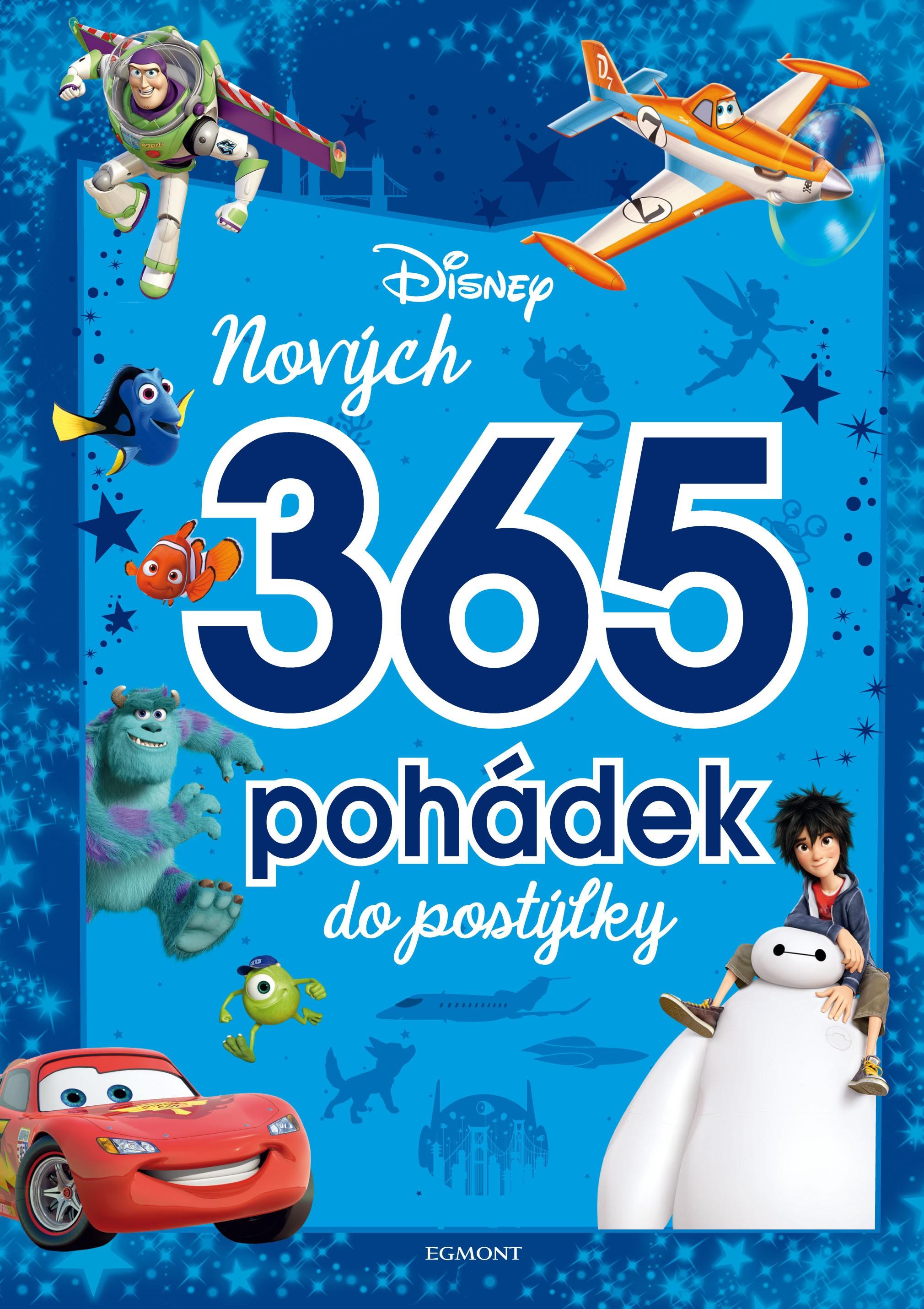 Egmont Disney Pixar - Nových 365 pohádek do postýlky