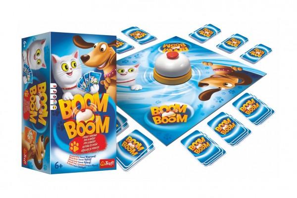 Trefl Boom Boom Psi a kočky společenská hra v krabici 15x16x10cm