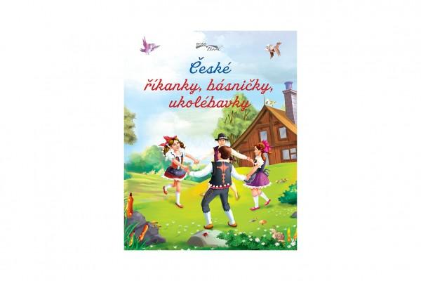 FONI Book Knížka České říkanky, básničky, ukolébavky CZ verze 19,5x25cm