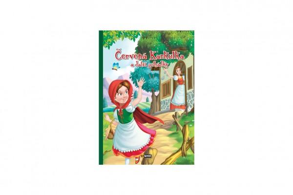 FONI Book Knížka Červená Karkulka a další pohádky CZ verze 15,5x22cm