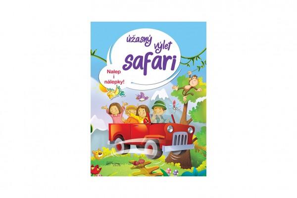 FONI Book Pracovní sešit Úžasný výlet safari CZ verze 21x28cm