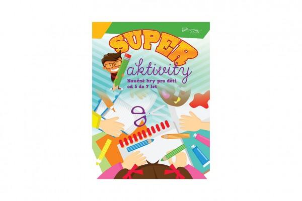 FONI Book Pracovní sešit Superaktivity pro děti 5-7 let CZ verze 21x28cm