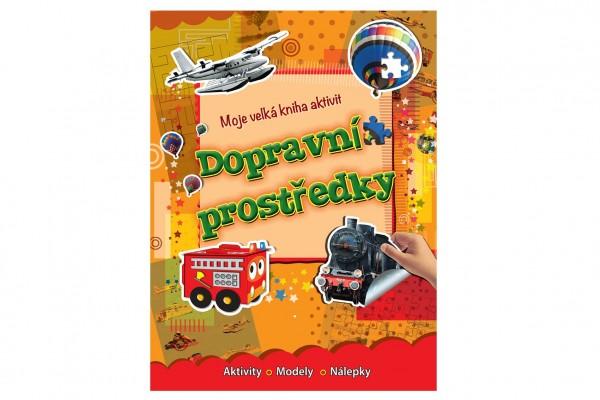 FONI Book Moje velká kniha aktivit Dopravní prostrědky CZ verze 21x28cm