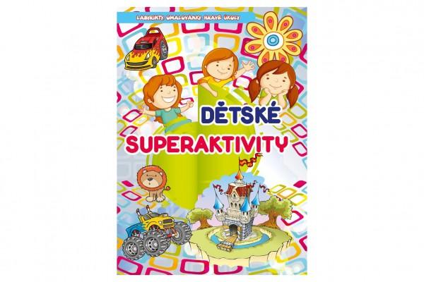 FONI Book Knížka Dětské superaktivity CZ verze 20x28,5cm