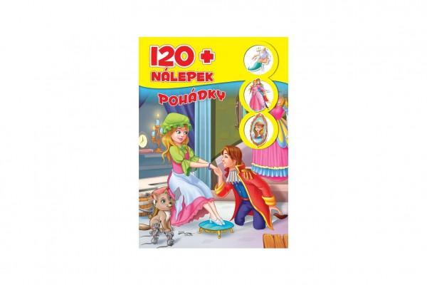 FONI Book Knížka se samolepkami 120+ Pohádky CZ verze 21x30cm