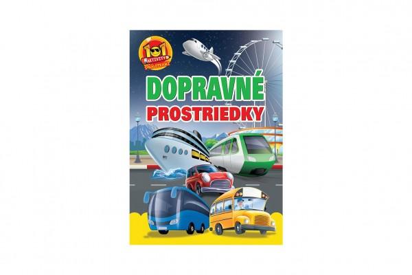 Levně FONI Book Aktivity Dopravné prostriedky 101 so samolepkami SK verzia 21x30cm