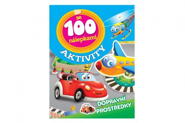 FONI Book Aktivity Dopravní prostředky se 100 samolepkami CZ verze 21x28cm