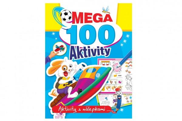 FONI Book Mega aktivity 100 Zajíc CZ verze 21x28cm