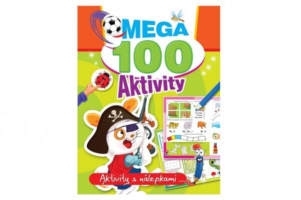 FONI Book Mega aktivity 100 Pirát CZ verze 21x28cm