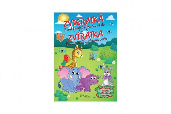FONI Book Pracovný zošit Zvieratká/Zvířátka + Zmazateľné pero CZ +SK verzia 21x30cm