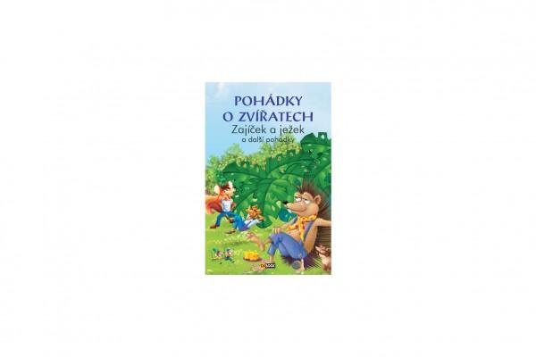 FONI Book Knížka Pohádky o zvířatech Zajíček a ježek CZ verze 15x22cm