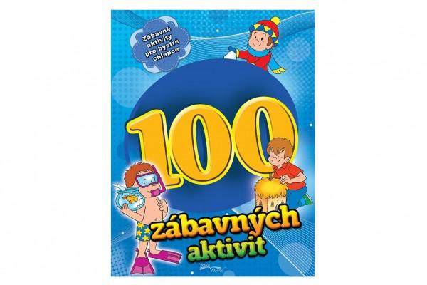FONI Book Pracovní sešit 100 zábavných aktivit-chlapci CZ verze 21x28cm
