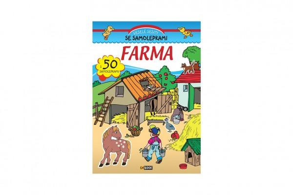 FONI Book Sešit Farma se samolepkami CZ verze 20x28cm