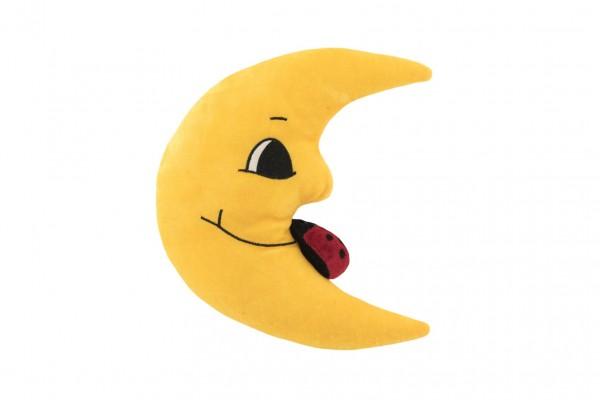 Teddies Měsíc plyš 27cm s beruškou 0+