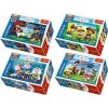 Minipuzzle 54 dílků Tlapková Patrola/Tlapková Patrola 4 druhy v krabičce 9x6x3cm (1 ks)
