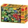 Puzzle 3D 500 dílků  džungle-plazi