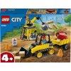 lego city buldozer na stavenisti
