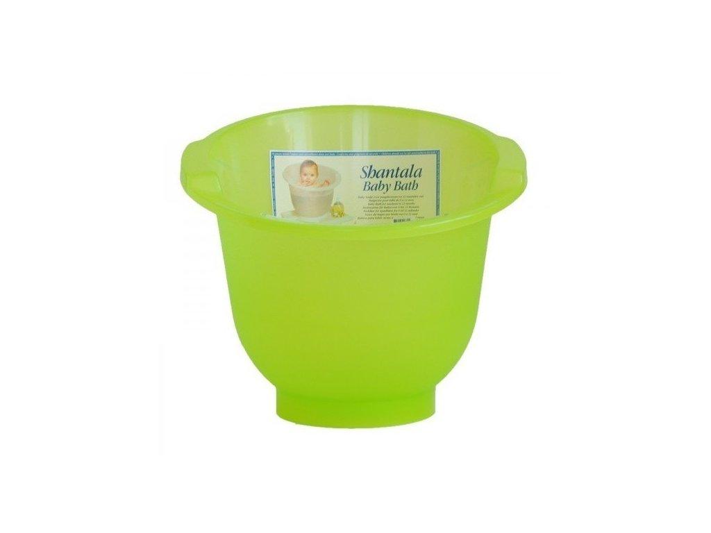 Shantala Koupací kyblík zelený
