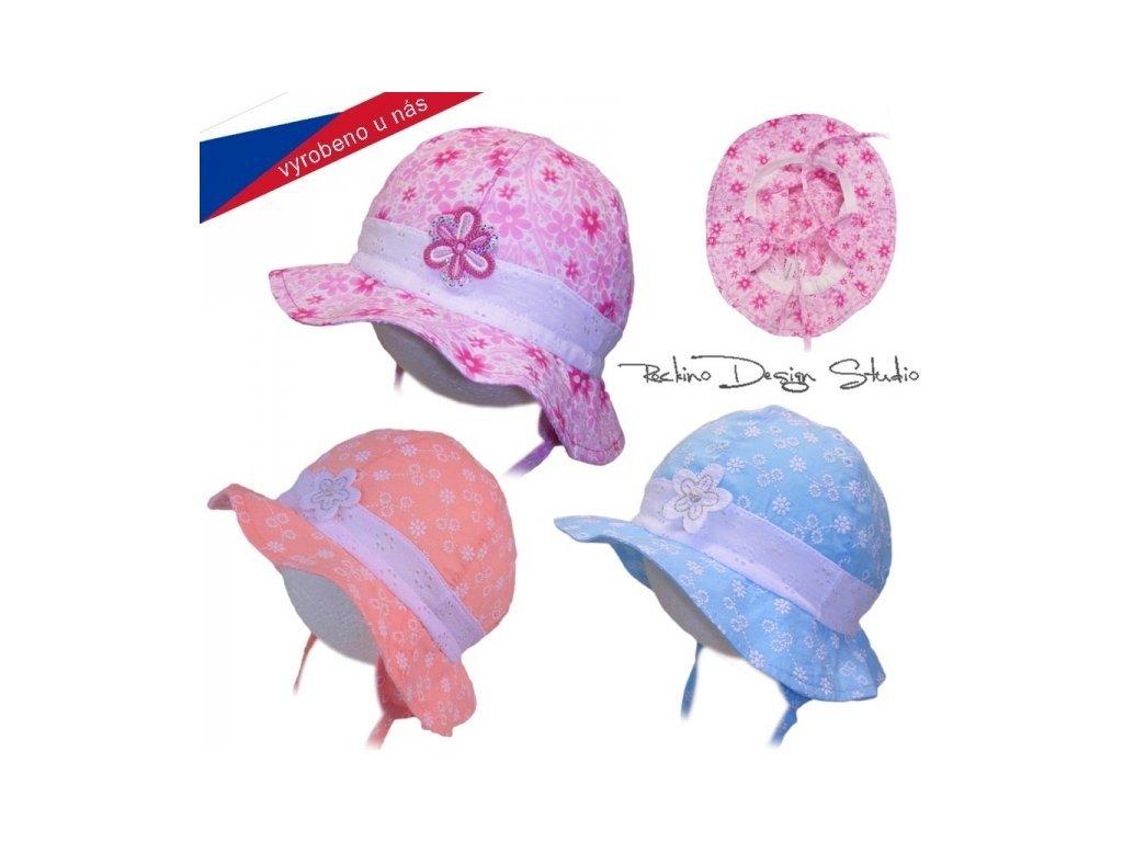Rockino Letní klobouček 3734 meruňkový