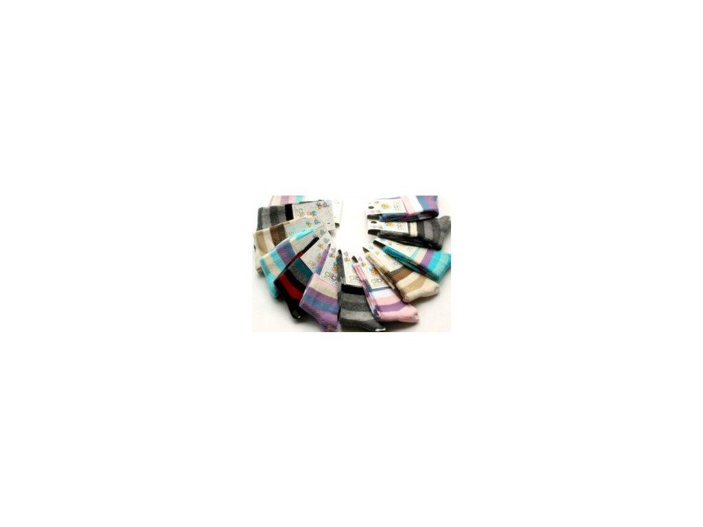 Diba dětské ponožky luxusní bavlna 23-25
