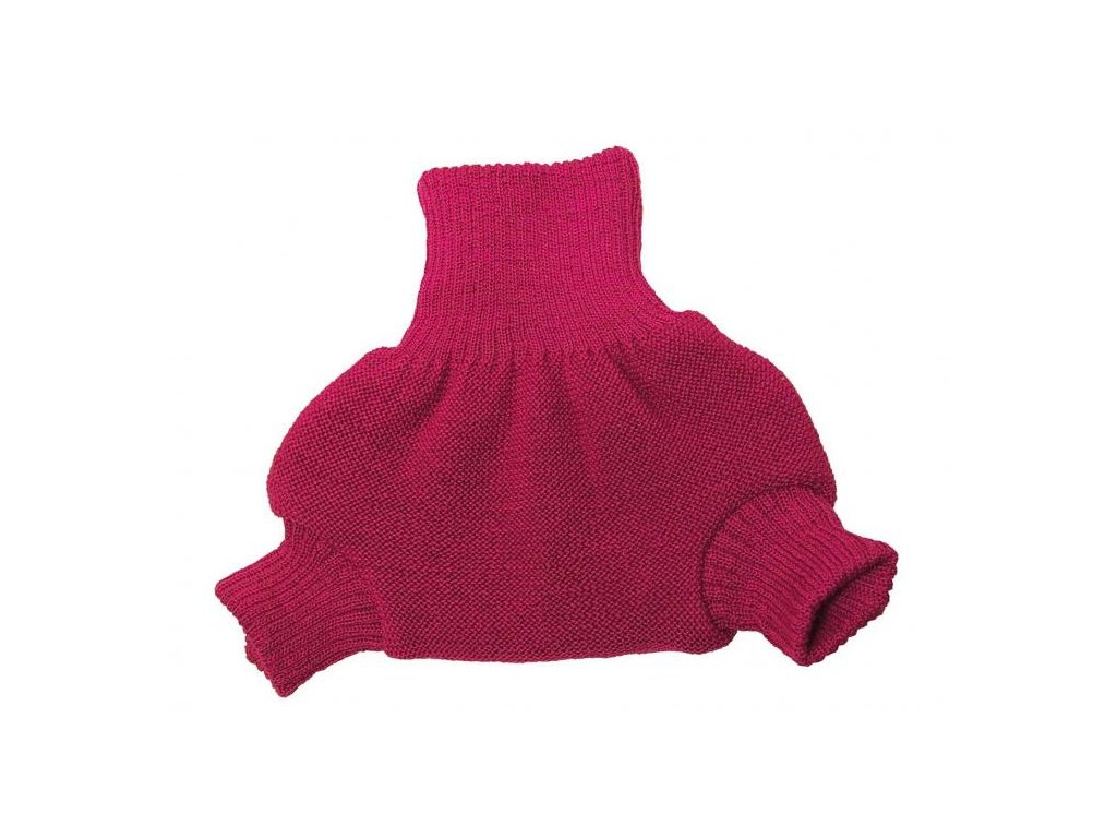 Disana Vlněné svrchní kalhotky na pleny MALINOVÉ 98-104