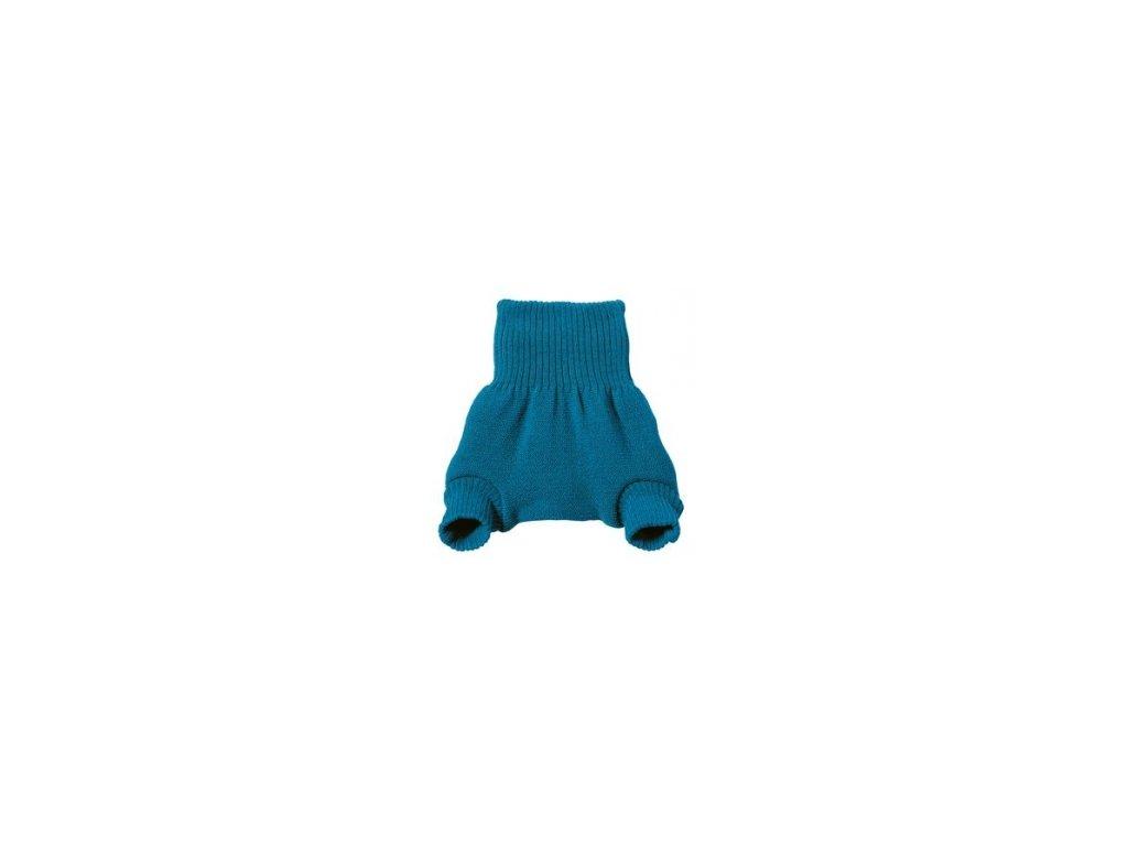 Disana Vlněné svrchní kalhotky na pleny MODRÉ